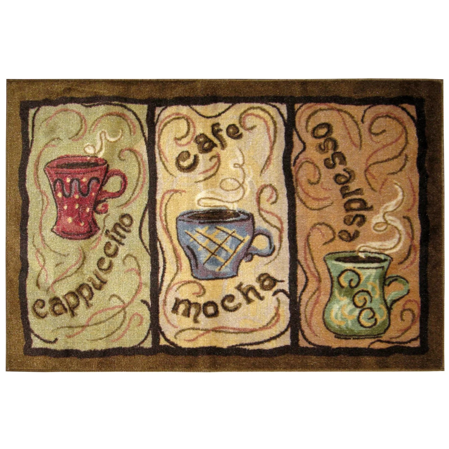 coffee kitchen rugs farm sinks brumlow mills rug and reviews wayfair