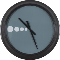 "Decor Therapy Oversized 24"" Contemporary Wall Clock"