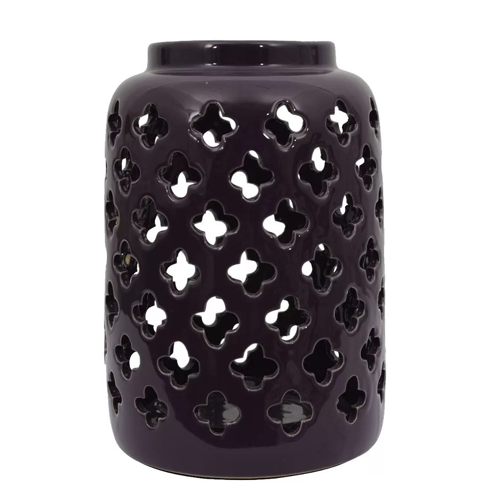 Decor Therapy Ceramic Lantern  Reviews  Wayfair