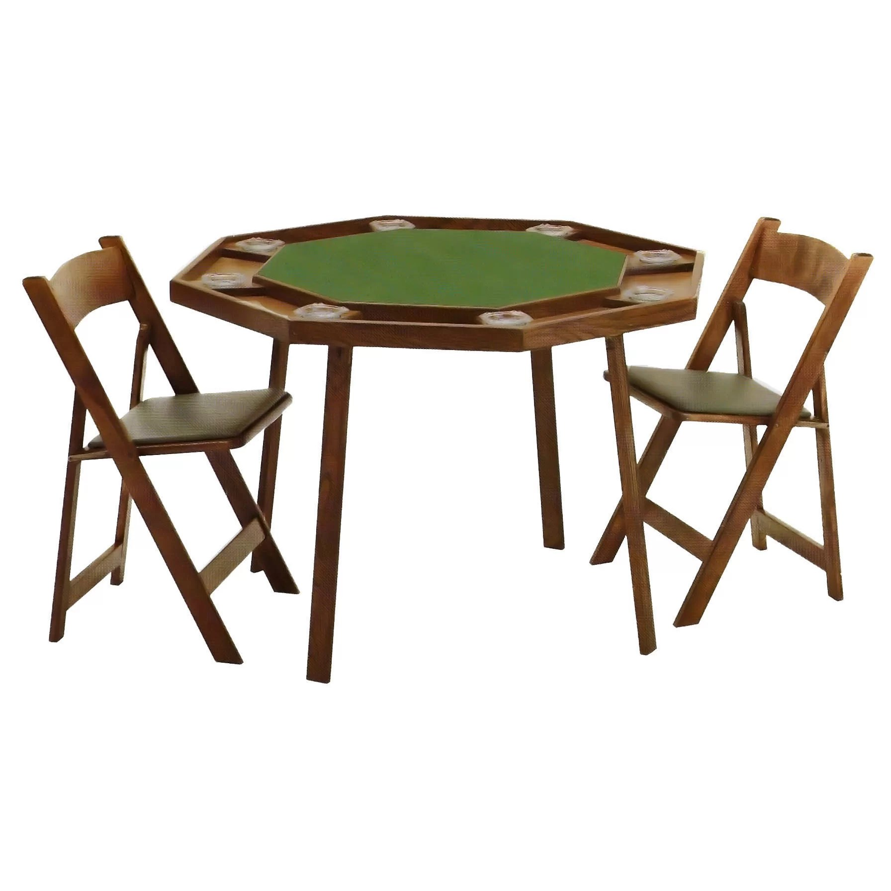 Poker Table And Chairs Kestell Furniture 46 Quot Oak Compact Folding Poker Table Set