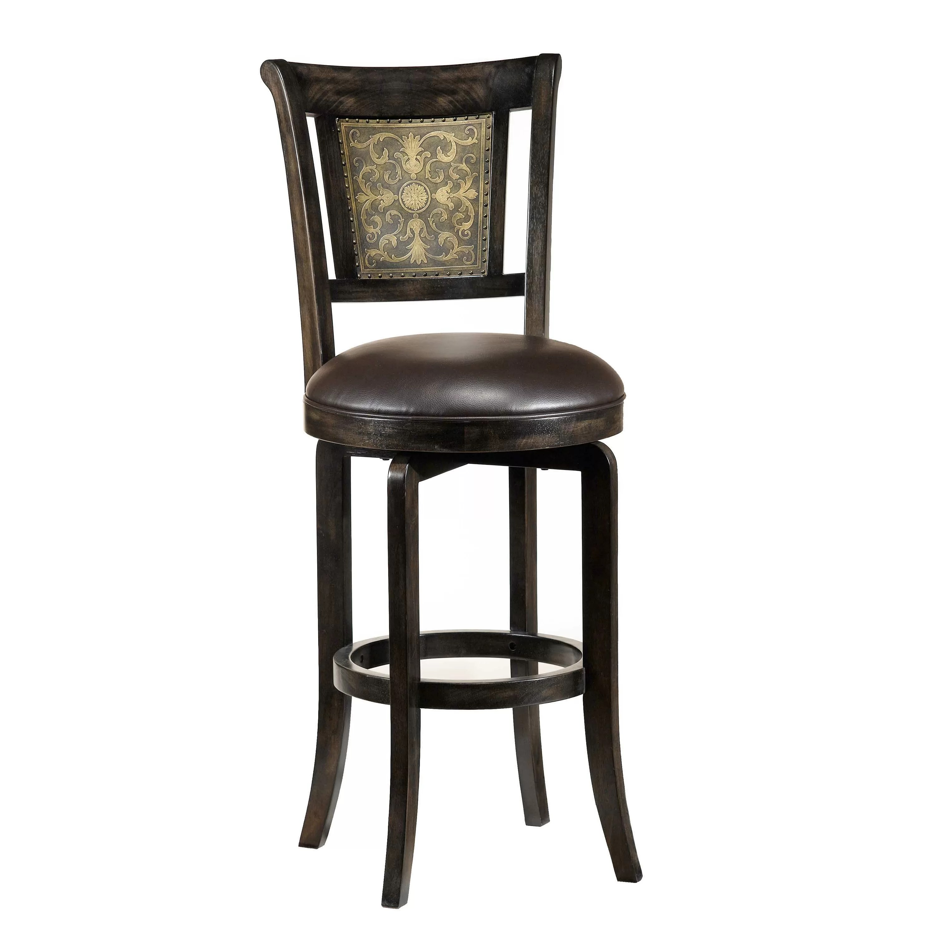 """Hillsdale Camille 26.5"""" Swivel Bar Stool & Reviews"""