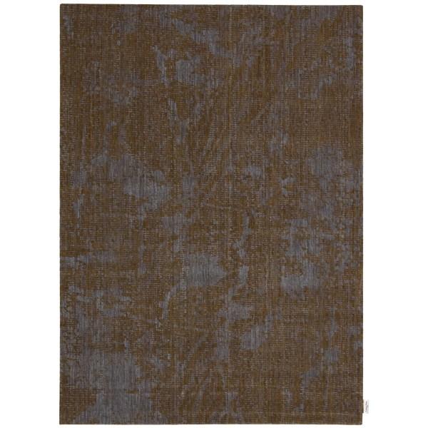 Calvin Klein Rugs Urban Abstract Brown Bark Cobalt Area