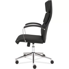 High Chairs Canada Reviews Game Room Basyx Vl105 Leather Executive Back Chair And