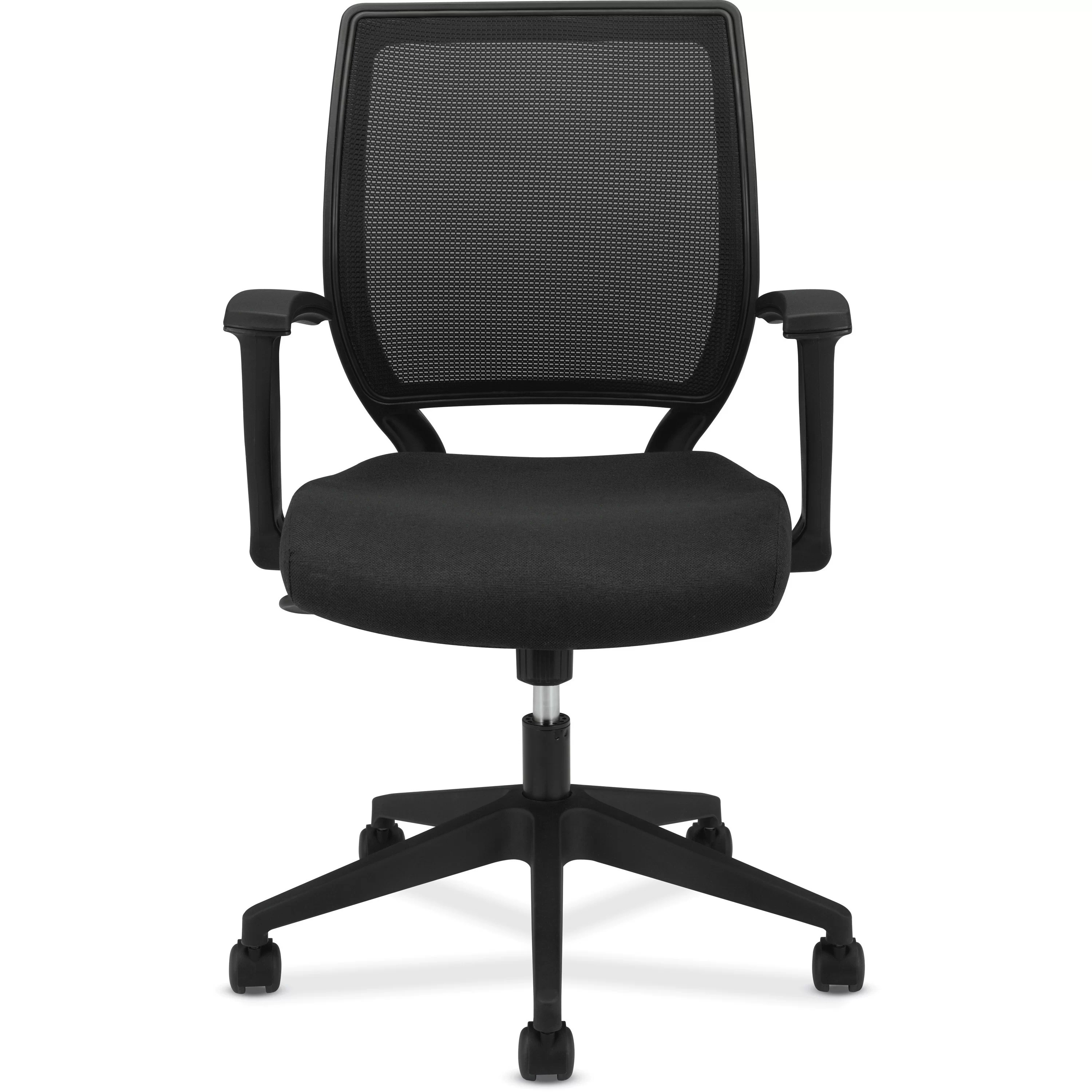 Work Chair Basyx Vl521 Mid Back Work Chair And Reviews Wayfair