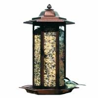 Birdscapes Tall Tulip Garden Lantern Decorative Bird ...