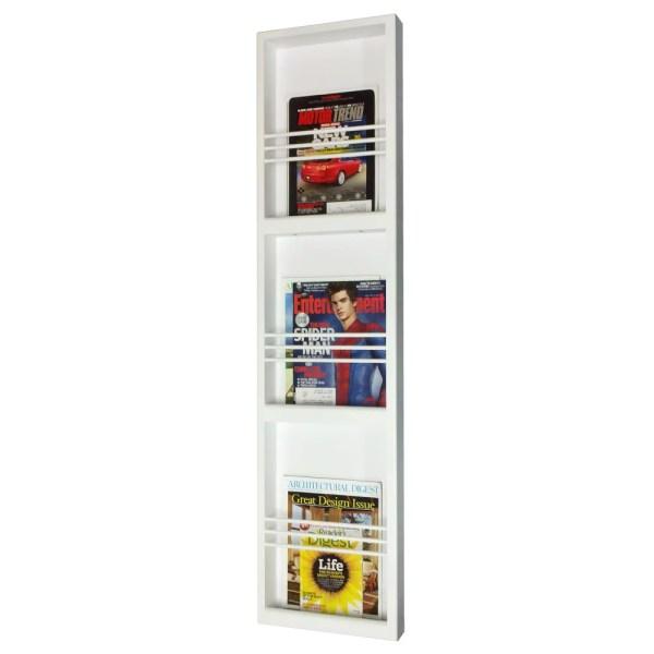 Wall Mount Magazine Rack