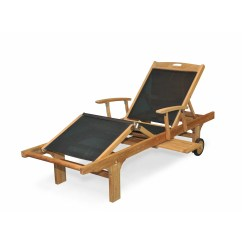 Teak Chaise Lounge Chairs Sale Ethan Allen Mickey Mouse Club Chair And A Half Regal Sling Arm Reviews Wayfair