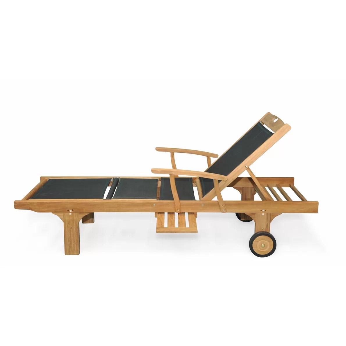 teak chaise lounge chairs sale diem chair accessories regal sling arm and reviews wayfair