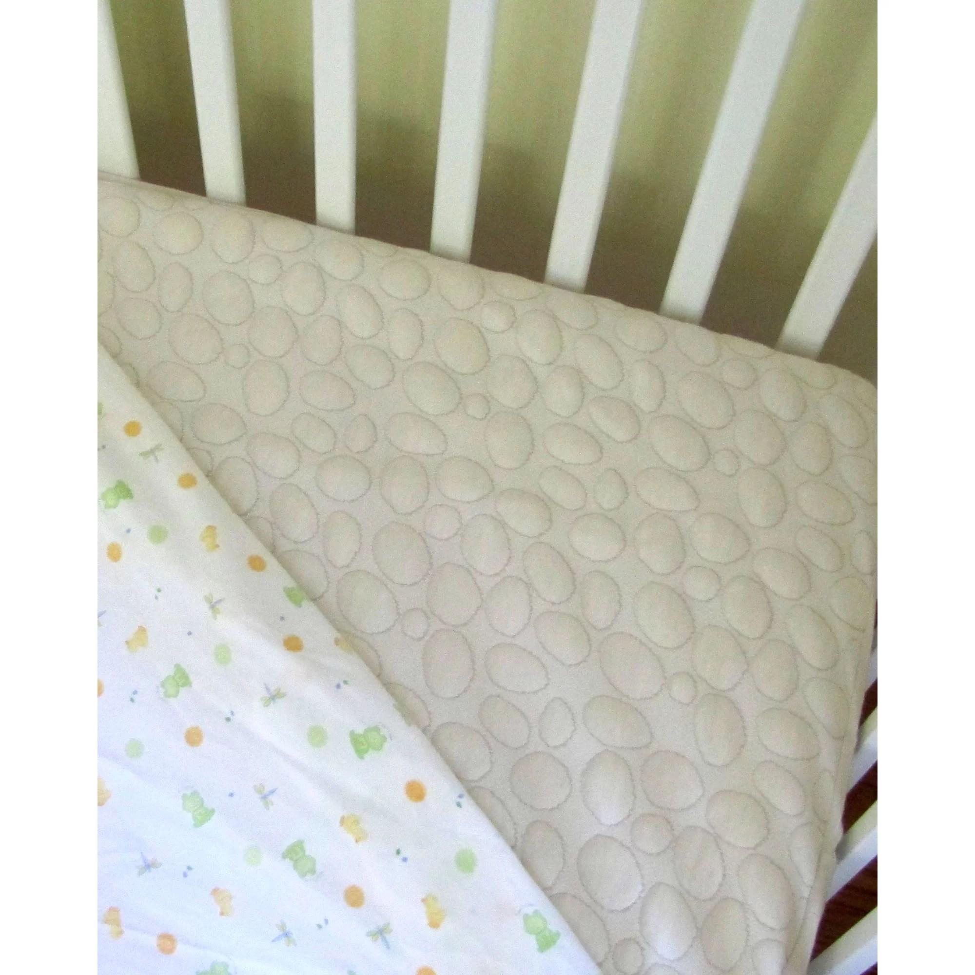 Dream Decor Organic Smooth Top Natural Fiber Crib Mattress Protector  Reviews  Wayfair