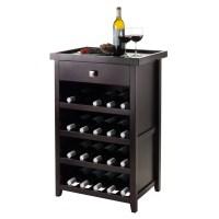 Winsome Zillah 20 Bottle Floor Wine Rack & Reviews | Wayfair