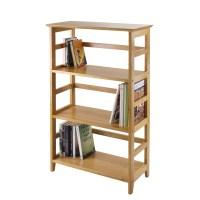 "Winsome Studio 42"" Etagere Bookcase & Reviews | Wayfair"
