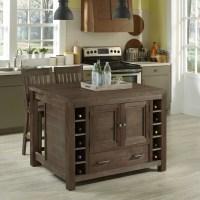 Home Styles Barnside Kitchen Island & Reviews | Wayfair