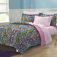 My Room Neon Leopard Bed-In-A-Bag Set & Reviews | Wayfair