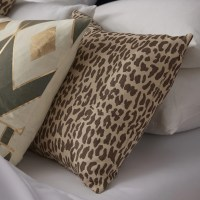 The Pillow Collection Ilandere Animal Print Throw Pillow