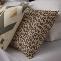 The Pillow Collection Ilandere Animal Print Throw Pillow ...