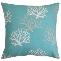 The Pillow Collection Hafwen Coastal Throw Pillow Cover ...