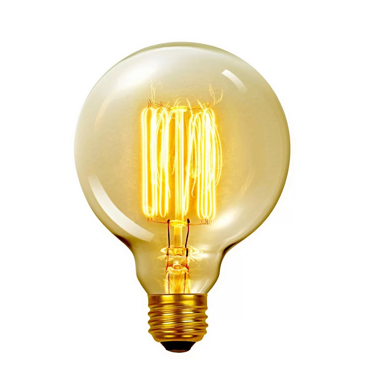 Globe Electric Company Vintage Edison 60 Watt 2700K G40