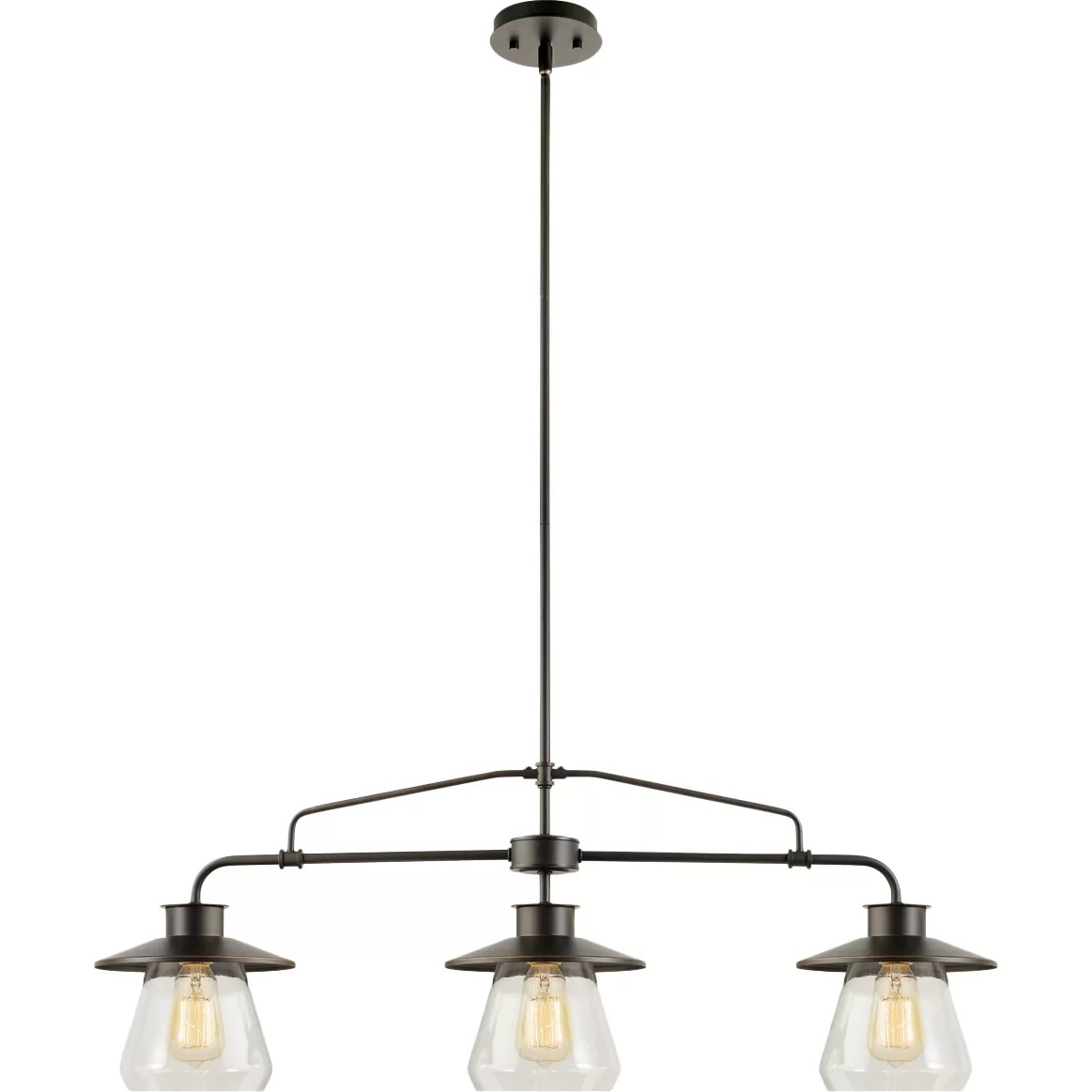 pendant lighting for kitchen islands aid mixer cover globe electric company moyet 3 light island