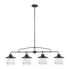Pendant Lighting For Kitchen Islands Remodeling Kansas City Globe Electric Company Angelica 4 Light Island