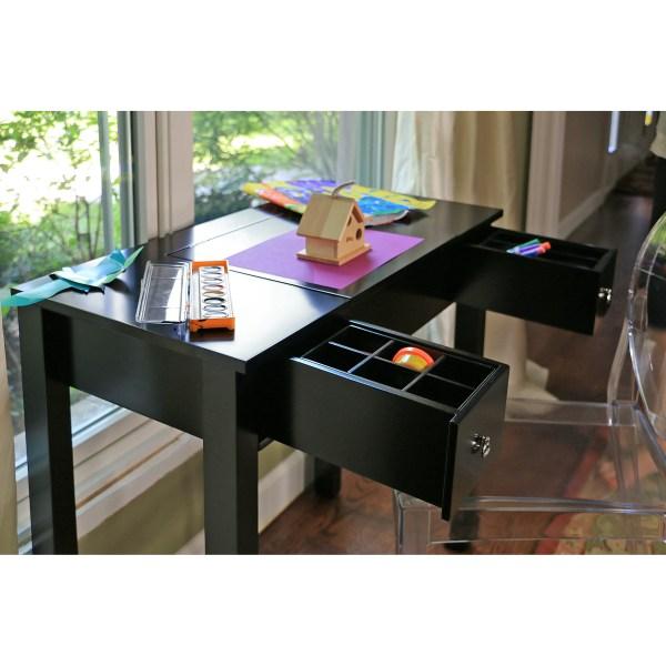 Interiors Baxton Studio Vanity Table With Mirror