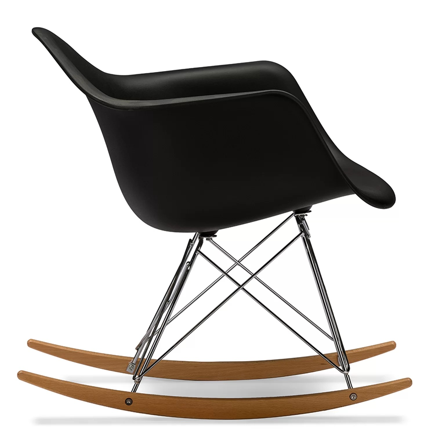 Baxton Chair Wholesale Interiors Baxton Studio Charlie Rocking Chair In