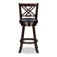 "Wholesale Interiors Baxton Studio 29"" Swivel Bar Stool ..."