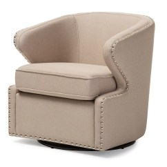 Swivel Accent Chairs Executive Chair Manufacturers Wholesale Interiors Baxton Studio Finley Upholstered