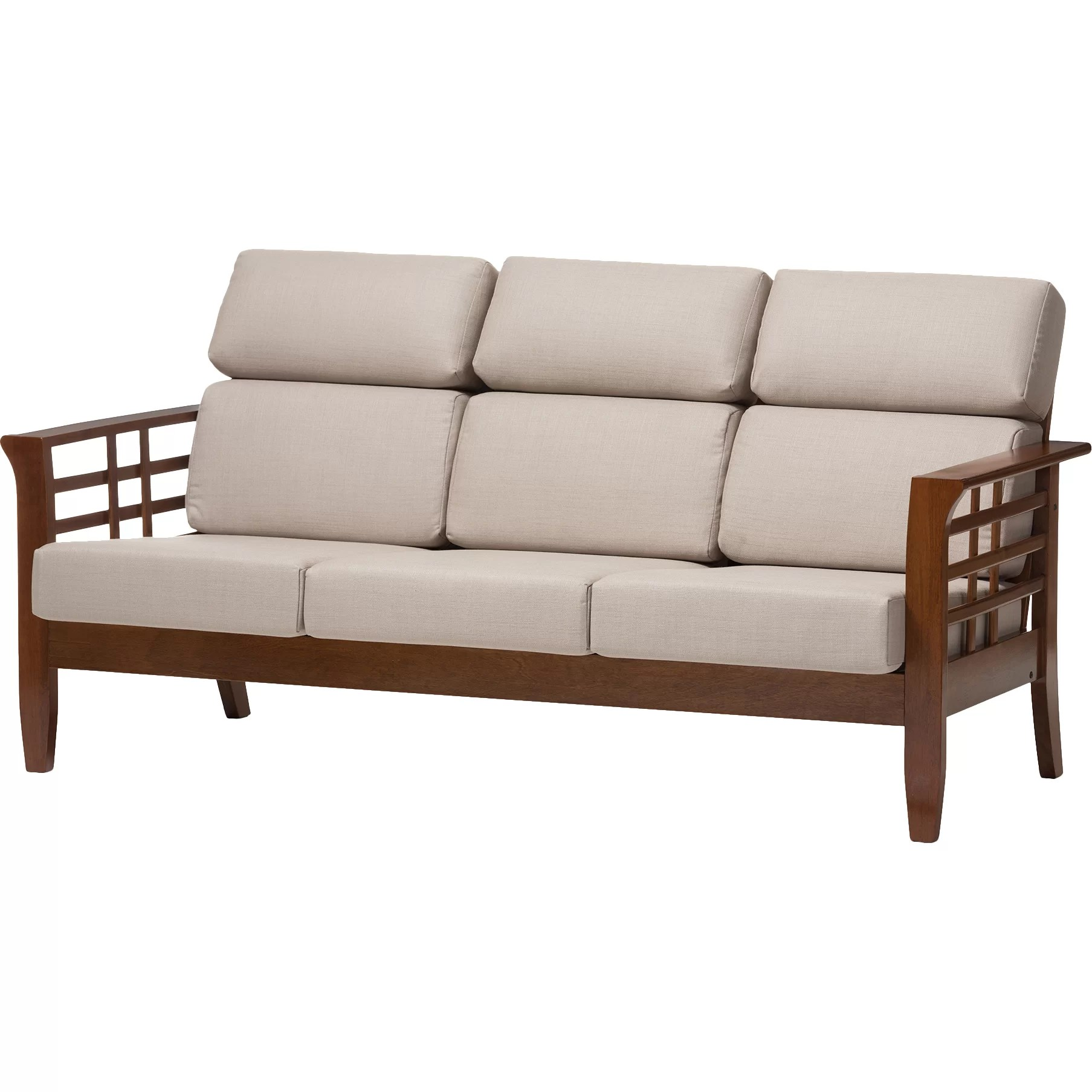 cheap three seater sofa sectional sleeper wholesale interiors baxton studio armanno 3 living
