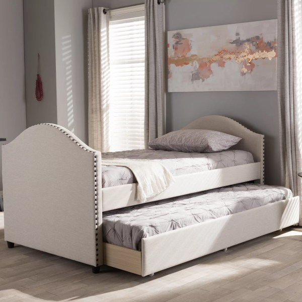 Interiors Baxton Studio Rebecca Daybed With