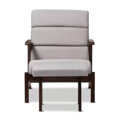 Modern Lounge Chair And Ottoman Set Step Stool Combination Wholesale Interiors Lazzaro Mid Century