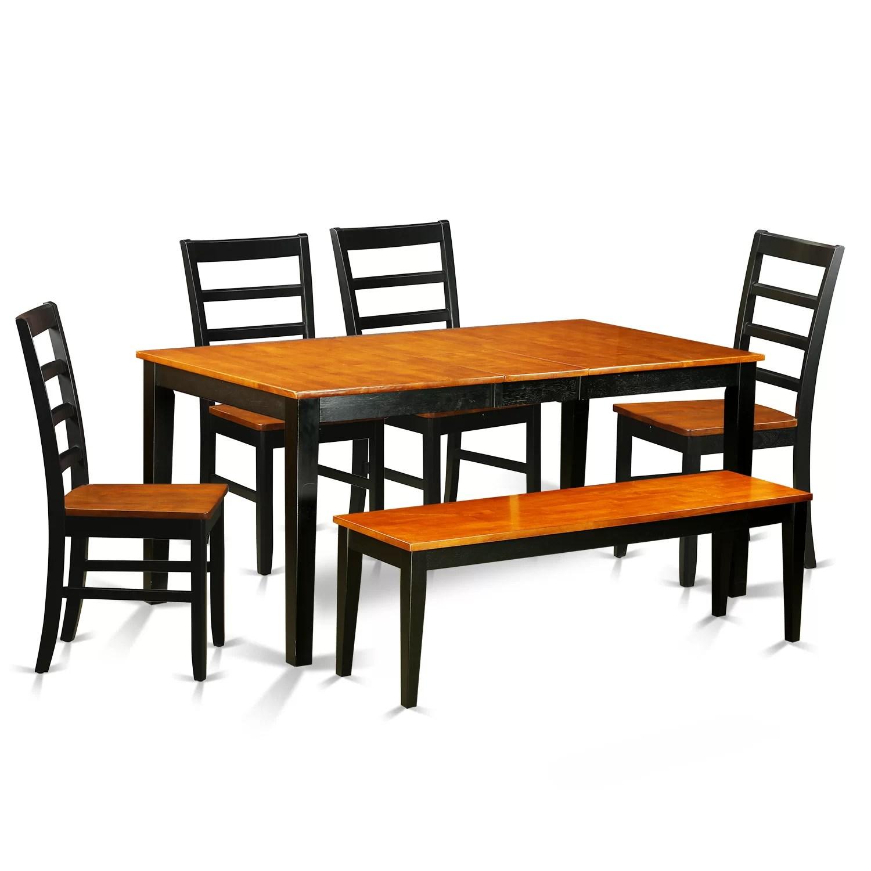 6 piece kitchen table sets delta faucet oil rubbed bronze east west nicoli dining set wayfair