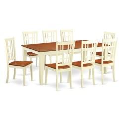 8 Chair Kitchen Table Wilsonart Cabinets East West Quincy 9 Piece Dining Set Wayfair
