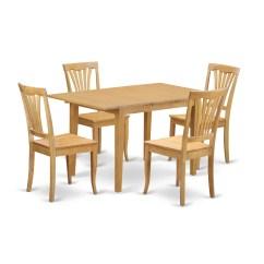 5 Piece Kitchen Table Sets Shelf Over Sink East West Norfolk Dining Set Wayfair