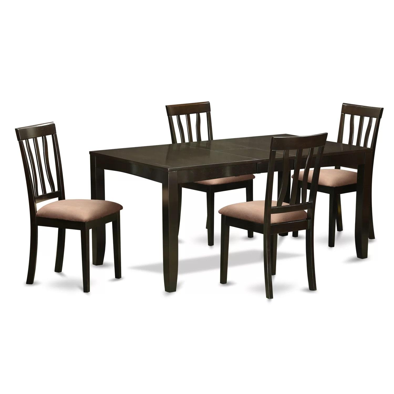 Wooden Importers Lynfield 5 Piece Dining Set  Wayfair