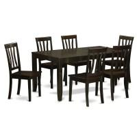 Wooden Importers Lynfield 7 Piece Dining Set | Wayfair