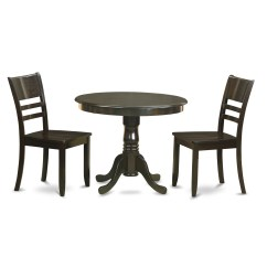 Three Piece Kitchen Sets Granite Tables Wooden Importers 3 Dining Set Wayfair