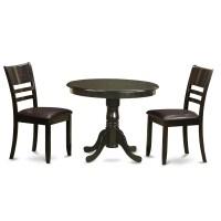 Wooden Importers 3 Piece Dining Set | Wayfair