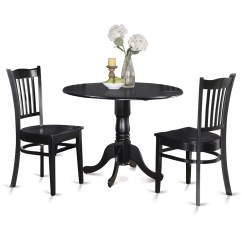 Small Kitchen Table For 2 Black Slate Floor Tiles Wooden Importers Dublin 3 Piece Dining Set And Reviews Wayfair