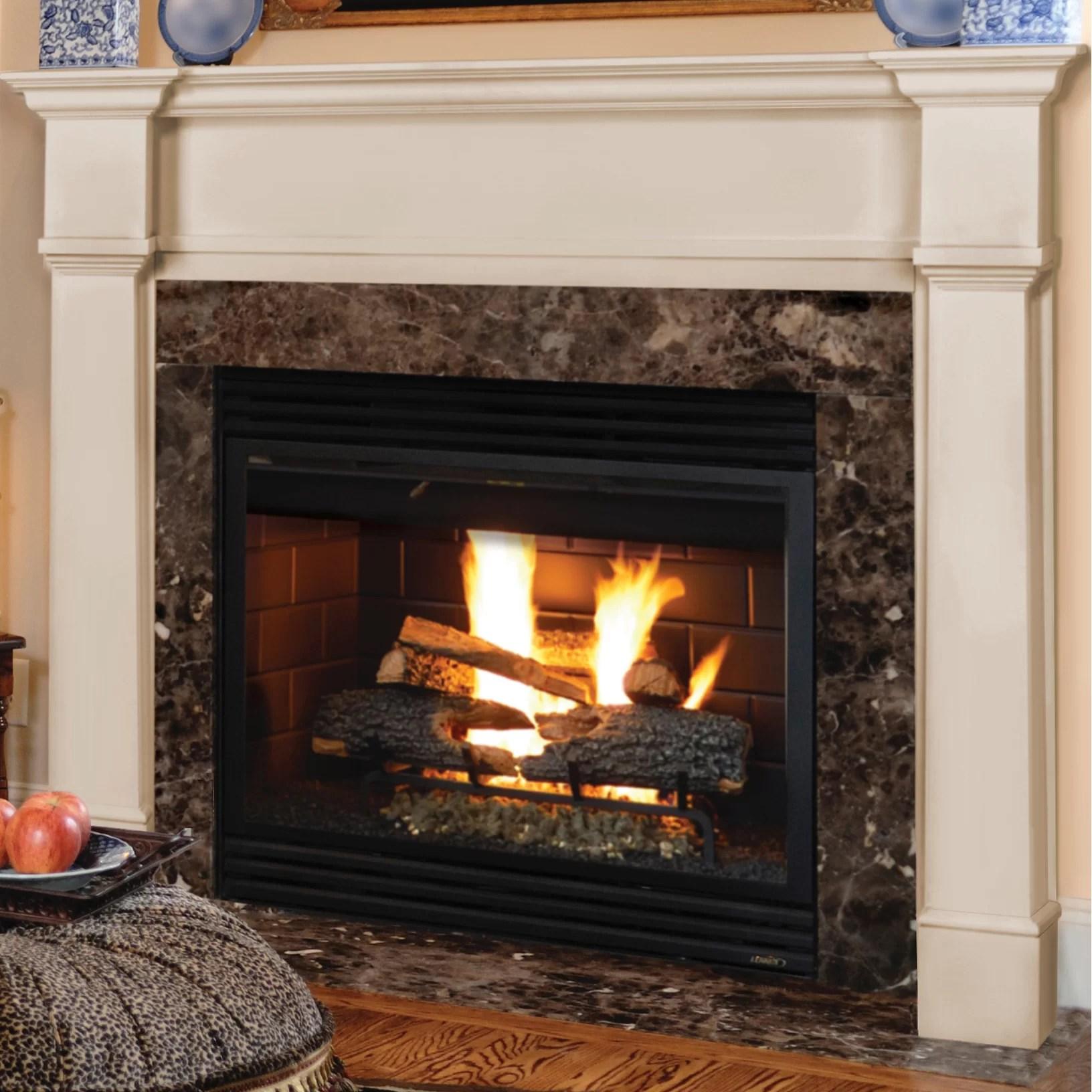 Pearl Mantels Richmond Fireplace Mantel Surround & Reviews