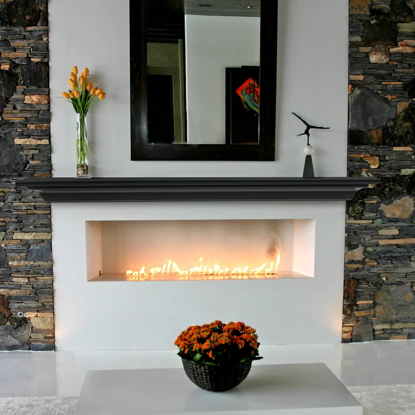 Pearl Mantels Crestwood Fireplace Mantel Shelf Amp Reviews