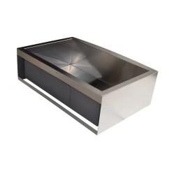 Stainless Steel Single Bowl Kitchen Sink Ikea Counters Kokols 31 Quot X 20 Farmhouse Apron Front