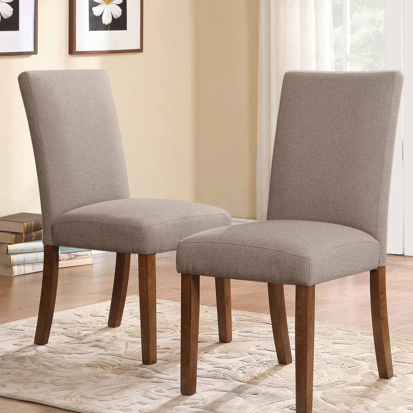 Wayfair Dining Chairs Dorel Living Parsons Chair And Reviews Wayfair
