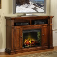 Legends Furniture Berkshire TV Stand with Electric ...