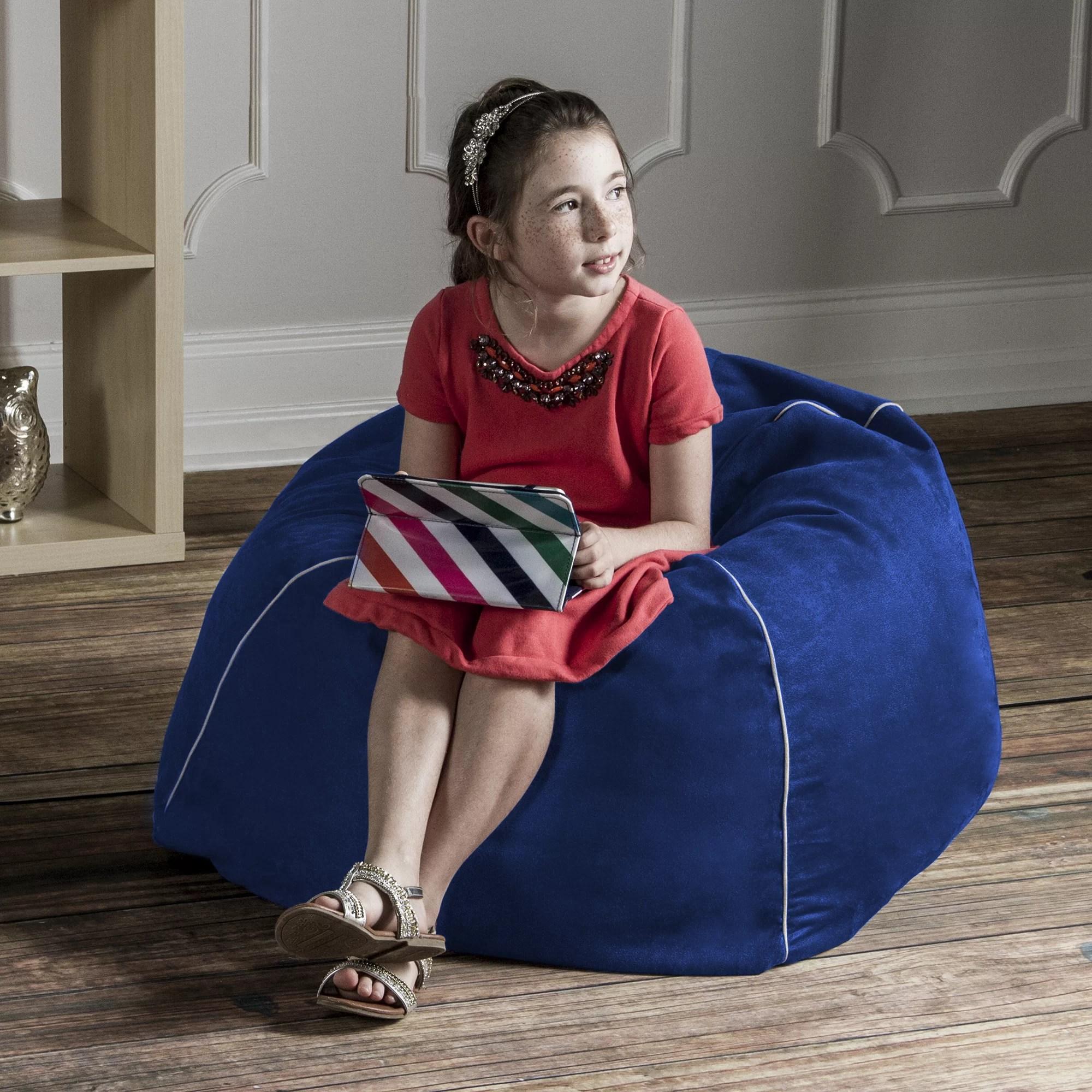 jaxx bean bag chair beach canopy attachment 2 5 39 kids club and reviews wayfair