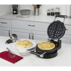 Waffle Chair Walmart Floor Mat Kalorik Stainless Steel Belgian Maker With