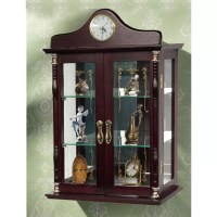 Jenlea Wall-Mounted Curio Cabinet & Reviews | Wayfair