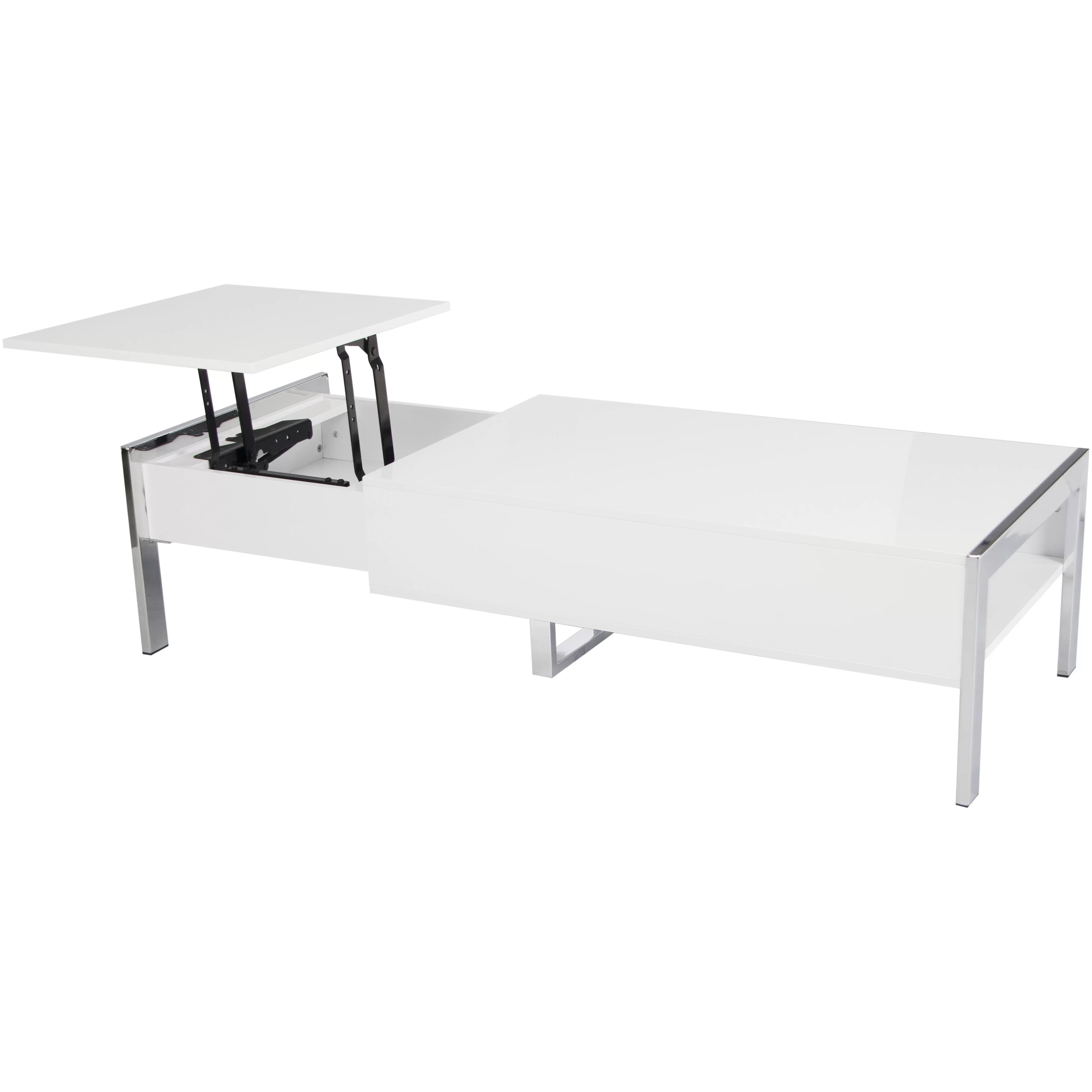 Matrix Selva White Coffee Table with Lift Top & Reviews
