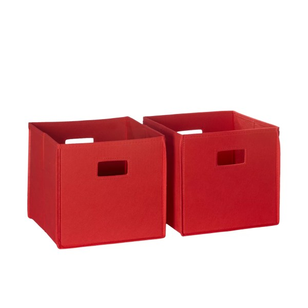 Riverridge Kids Folding Toy Storage Bin &