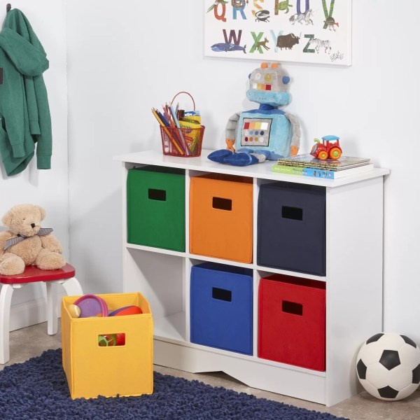 River Ridge Kids Storage Cabinet with 6 Bins