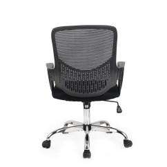 Mid Back Mesh Chair Graco Wooden High Hodedah Office And Reviews Wayfair
